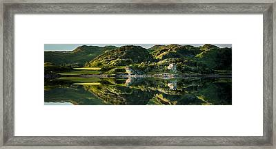 Loch Crinan Scotland And Duntrune Castle Framed Print