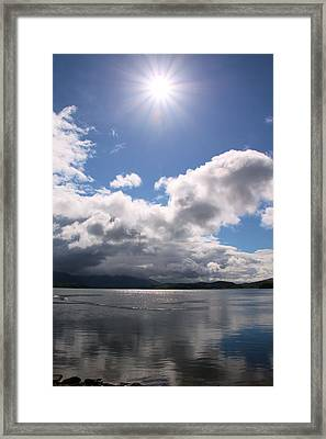 Loch Etive Framed Print by Elizabeth Lock