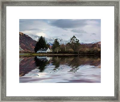 Loch Etive Reflections Framed Print by Lynn Bolt