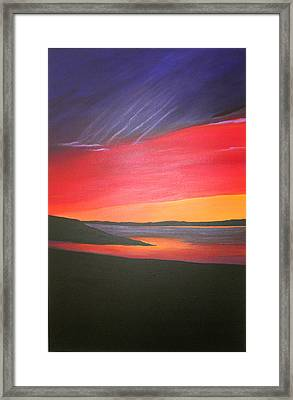 Loch Ewe Framed Print by Aileen Carruthers