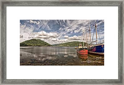 Loch Fyne 01 Framed Print