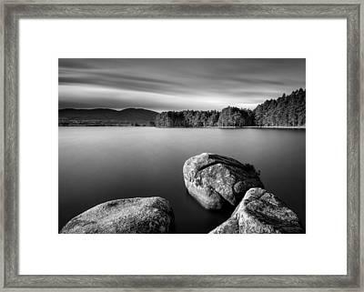 Loch Garten Framed Print by Dave Bowman
