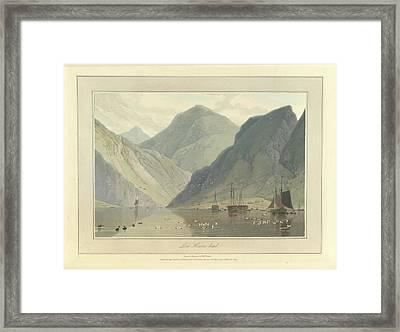 Loch Hourne Framed Print