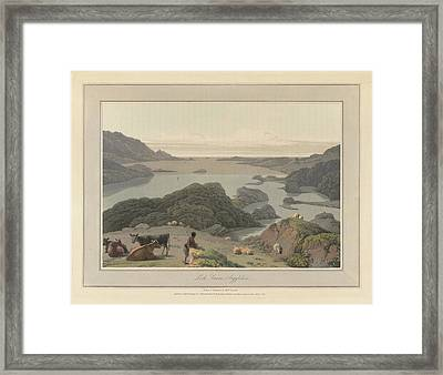Loch Inrene In Argyllshire Framed Print by British Library