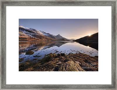 Loch Leven Framed Print