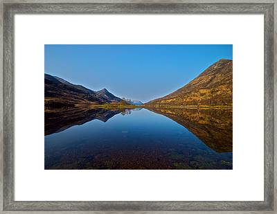 Framed Print featuring the photograph Loch Leven by Stephen Taylor