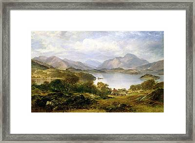 Loch Lomond, 1861 Framed Print by Horatio McCulloch