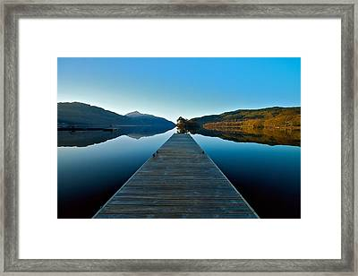 Loch Lomond In The Morning Framed Print