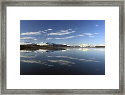 Loch Lomond Reflection Framed Print