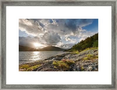 Loch Lomond Framed Print by Rod McLean