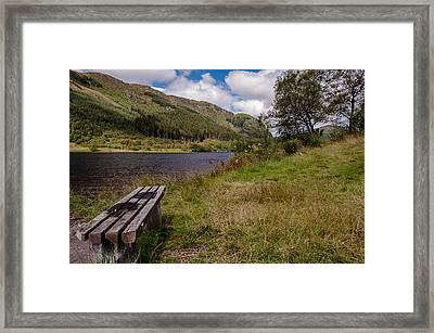 Framed Print featuring the photograph Loch Lubnaig by Sergey Simanovsky