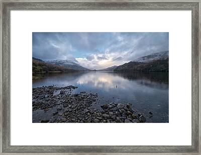 Framed Print featuring the photograph Loch Lubnair by Stephen Taylor
