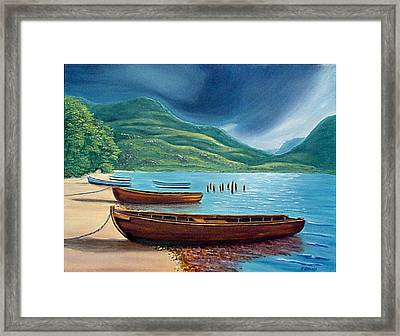 Loch Maree Scotland Framed Print