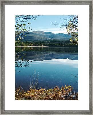 Loch Morlich - Autumn Framed Print by Phil Banks