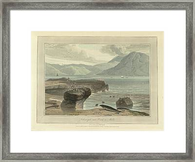 Loch-na-gael Near Knock On Mull Framed Print by British Library