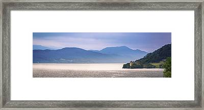 Loch Ness And Urquhart Castle Framed Print
