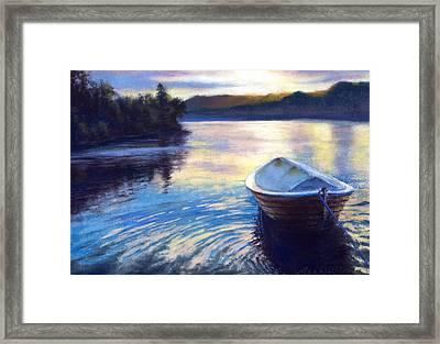 Loch Ness Morning Framed Print