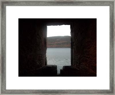 Loch Ness Portal Framed Print