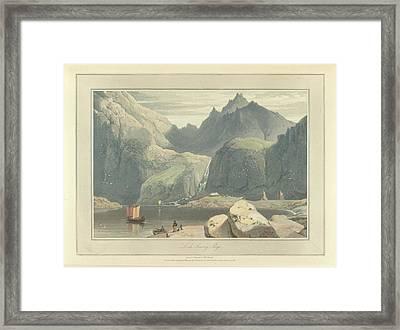 Loch Scavig Framed Print