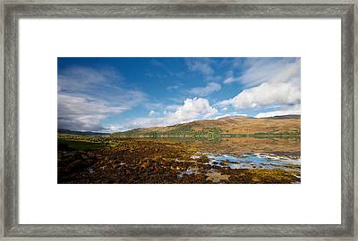 Framed Print featuring the photograph Loch Sunart by Stephen Taylor