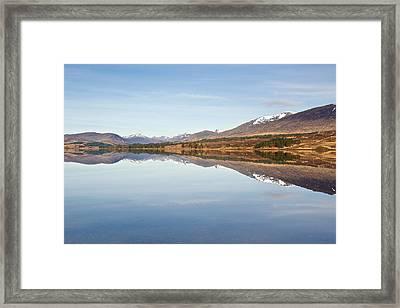 Loch Tulla In Spring Framed Print
