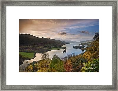 Loch Tummel Framed Print by Rod McLean