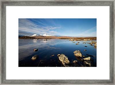 Lochan Na Achlaise Framed Print