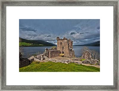 Lochness Framed Print by Terry Cosgrave