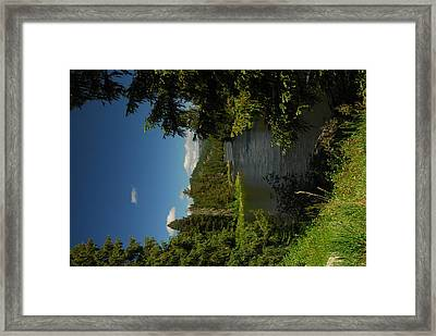 Lochsa River Overlook Framed Print by Larry Moloney