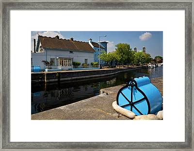 Lock On The River Shannon Framed Print by Panoramic Images