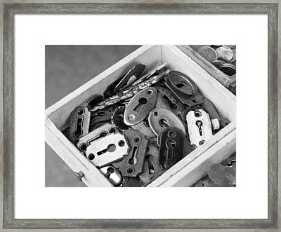 Lock Out Framed Print by Atchayot Rattanawan