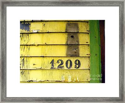 Lock Stock And Mailbox Framed Print by Joe Jake Pratt