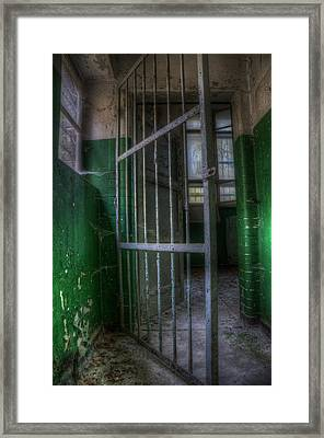 Lock Up Framed Print