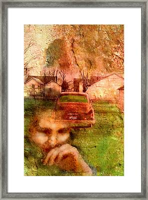 Locked Cars And Unknown Destinations Framed Print by James Huntley