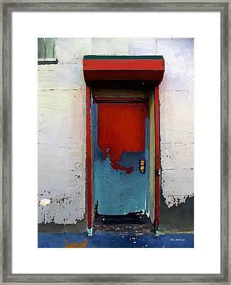 Locked Door, Hell's Kitchen Framed Print by RC deWinter