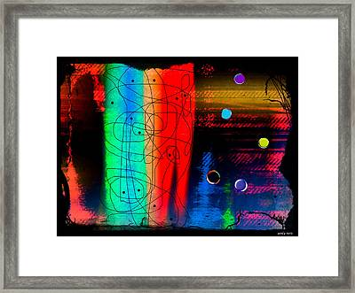 Locked In A Bottle  Framed Print by Sir Josef - Social Critic - ART