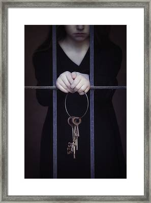 Locked-in Framed Print