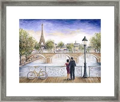 Locked In Love Framed Print by Marilyn Dunlap