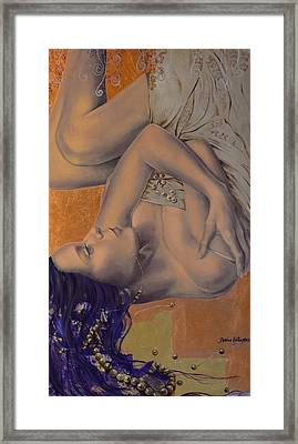 Locked In Silence Framed Print by Dorina  Costras