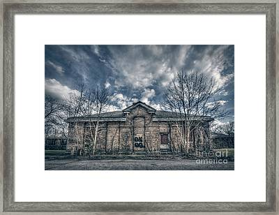 Locked Up Forever Framed Print by Evelina Kremsdorf