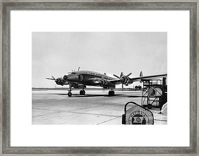 Lockheed Constellation  Eastern Airlines Framed Print by Wernher Krutein