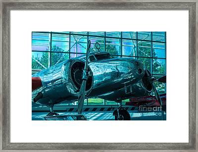 Lockheed Electra Framed Print by Rich Priest