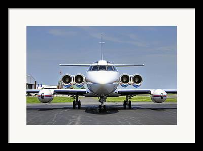 Lockheed Jetstar Framed Prints