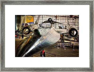 Lockheed M-21 Blackbird Framed Print by David Patterson