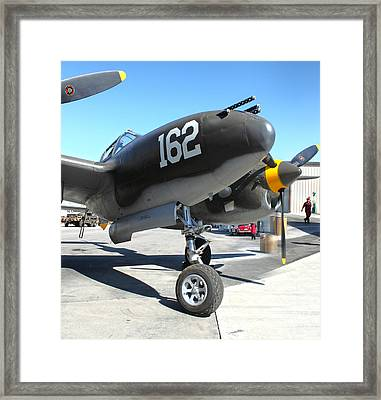Lockheed P-38 - 162 Skidoo - 01 Framed Print by Gregory Dyer