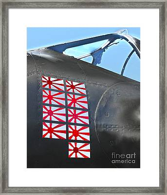 Lockheed P-38 - 162 Skidoo - 04 Framed Print by Gregory Dyer