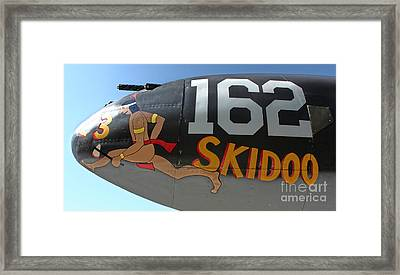 Lockheed P-38 - 162 Skidoo - 05 Framed Print by Gregory Dyer