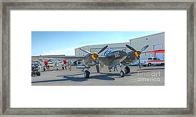 Lockheed P-38 - 162 Skidoo - 06 Framed Print by Gregory Dyer