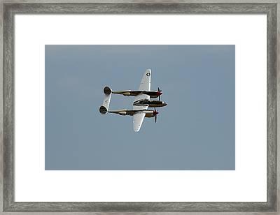 Lockheed P 38 Lightning Framed Print