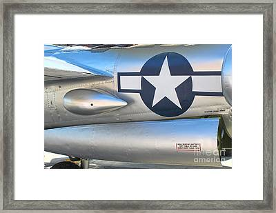 Lockheed P-38l Lightning Honey Bunny  - 10 Framed Print by Gregory Dyer